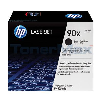 HP LASERJET M4555 MFP TONER CARTRIDGE BLACK 24K GOV